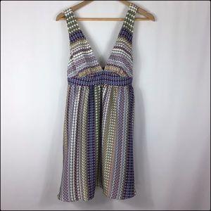 {Anthropologie} floreat Medium Dress